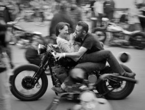 biker couples share riding life