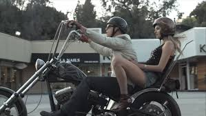 Biker couples of Holllywood