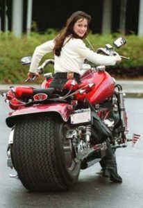 true motorcycle babe