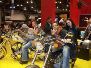 dating in motorcycle shows