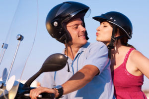 Your first biker date is coming.