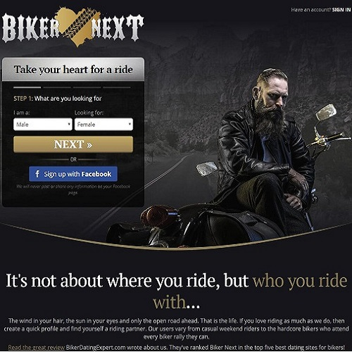 Bikers only dating site